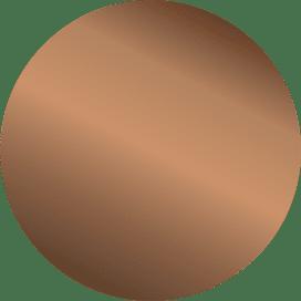 Bronze Oval
