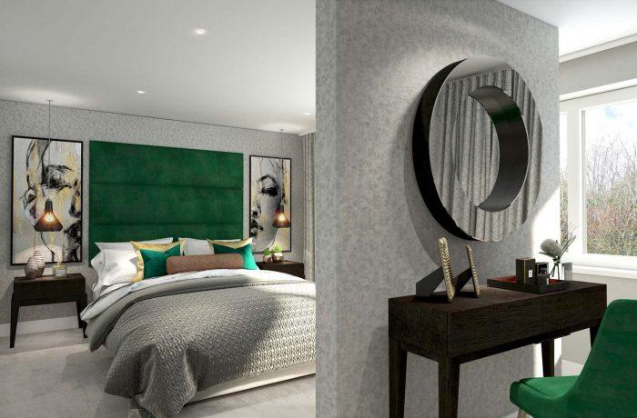 Cityglades Dressing Room CGI