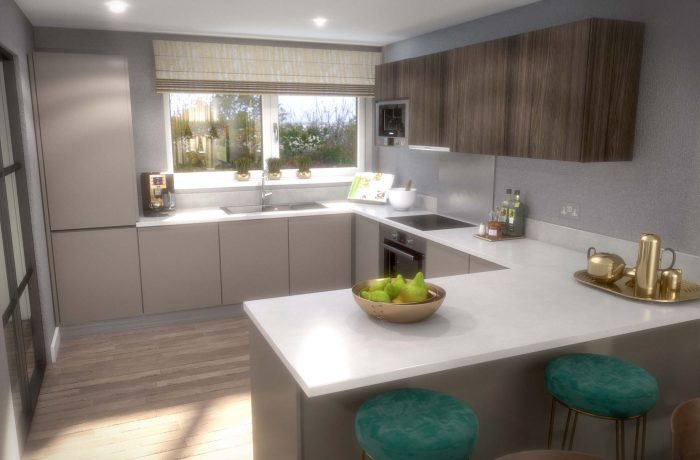Cityglades Kitchen CGI