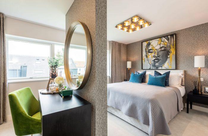 Master bedroom in the Henslow